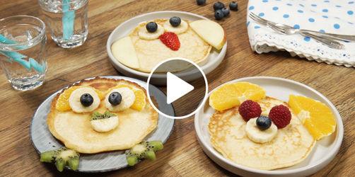 Tierische Pfannkuchen