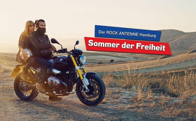 Der ROCK ANTENNE Hamburg - Sommer der Freiheit!