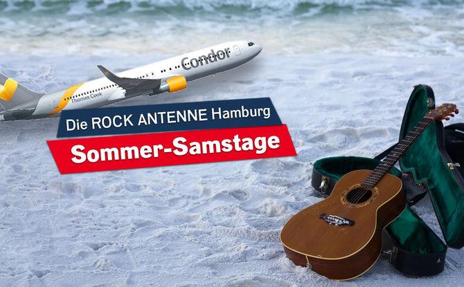 Die ROCK ANTENNE Hamburg Sommer-Samstage: Wir fliegen euch in die Sonne!