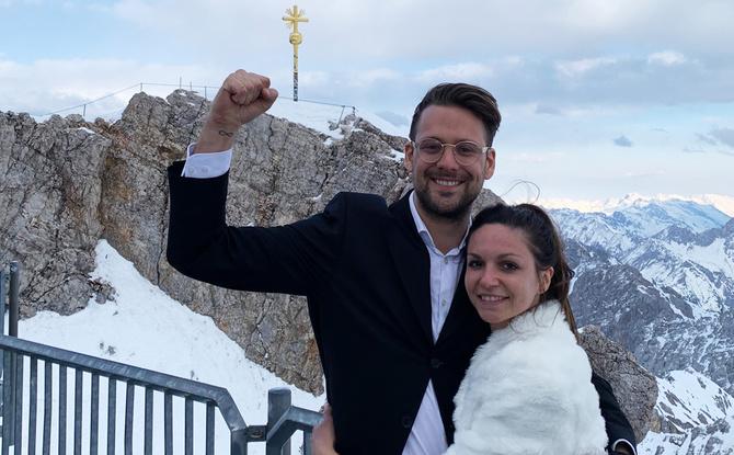 """""""Drum prüfe, wer sich ewig bindet..."""" - Bayerns längster Hochzeitsmarsch"""