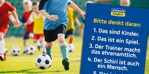 Plakat für jeden Kinder-Fußballplatz: Diese 5 Dinge sollten wir alle beherzigen