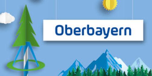Oberbayerns Maibäume