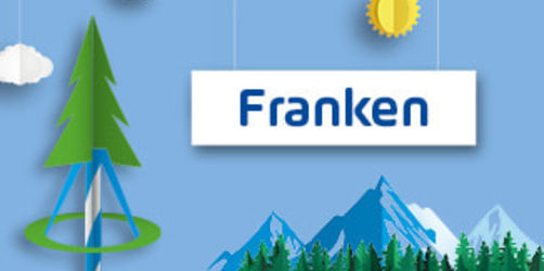 Frankens Maibäume