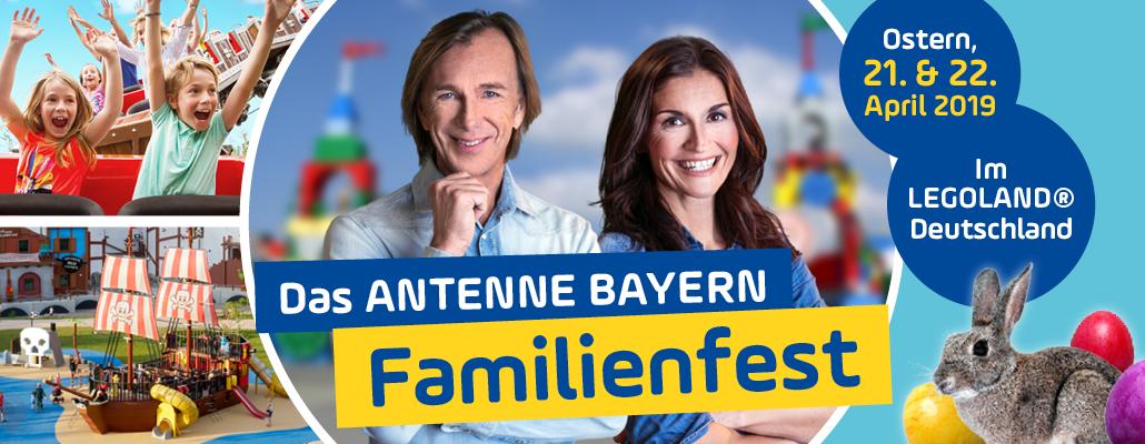 Das ANTENNE BAYERN-Familienwochenende im Legoland® Günzburg