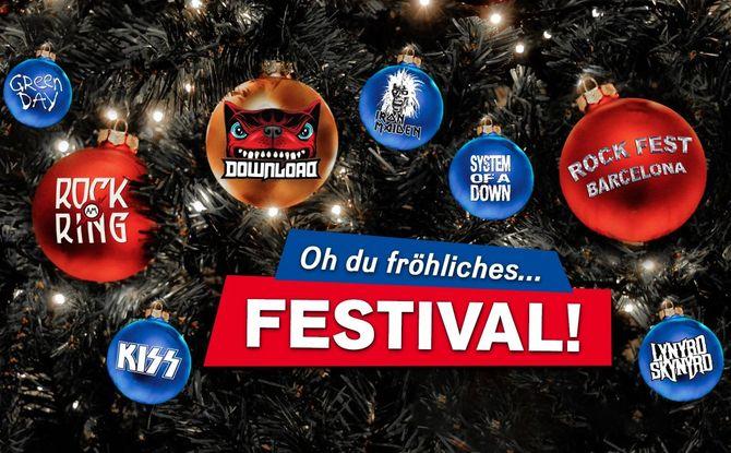 Oh du fröhliches... FESTIVAL: Wir schenken euch Tickets für die Festival-Highlights 2020!