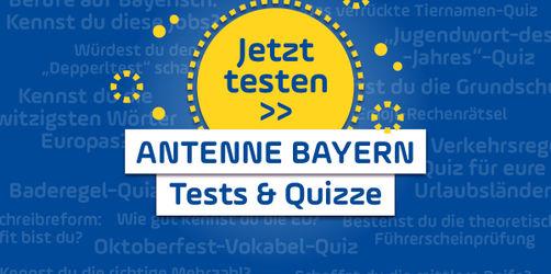 Spiel, Spaß und Rätsel-Action für daheim: Unsere ANTENNE BAYERN Quizze