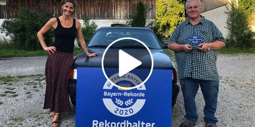 Die ANTENNE BAYERN Bayern-Rekorde: Der PKW mit den meisten Kilometern auf dem Tacho