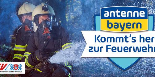 Kommt's her zur Feuerwehr! Unterstützt uns auf Facebook