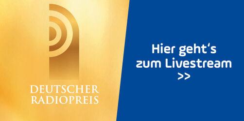 Livestream: Seid live dabei beim Deutschen Radiopreis 2020