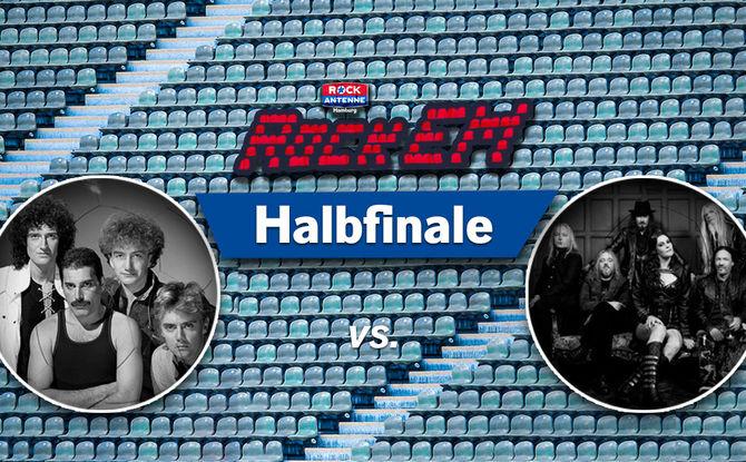 Queen vs. Nightwish: Halbfinale 2 - jetzt mitvoten!