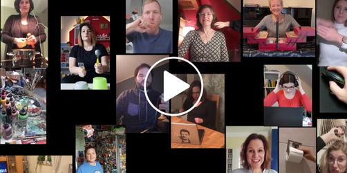Danke-Video an alle Schüler: Lehrer bedanken sich mit 'iLeiki'