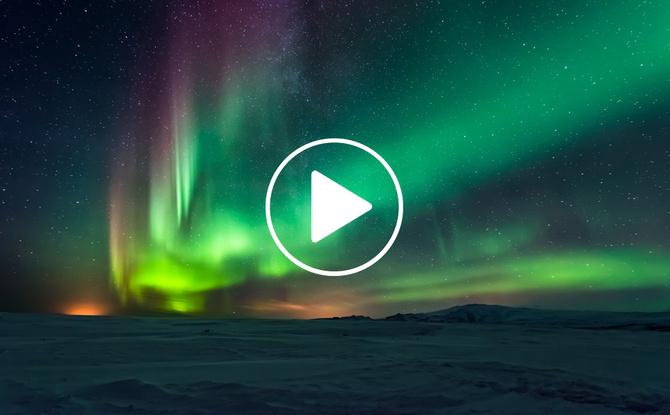 Einmal im Leben...Polarlichter sehen: Leiki erfüllt Vanessa ihren Lebenstraum