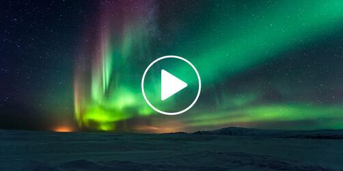 Einmal im Leben...Polarlichter live sehen