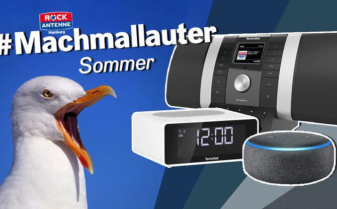 Der #Machmallauter Sommer: Mitmachen & mit neuen Wunsch-Geräten aufdrehen!