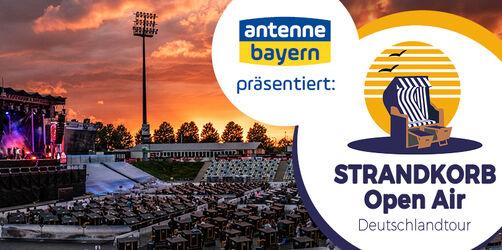 """Teilnahmebedingungen: Tickets für """"Das STRANDKORB OPEN AIR 2021 in Bayern"""""""