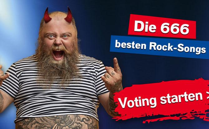 Die 666 besten Rocksongs: Eure höllisch heiße Hitparade!