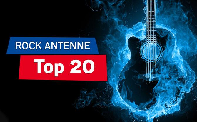 ROCK ANTENNE Top 20: Jetzt mitvoten & immer sonntags Radio an!