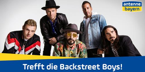 Teilnahmebedingungen Facebook-Verlosung: Trefft die Backstreet Boys mit ANTENNE BAYERN