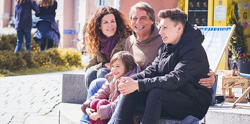 Menschen aus Bayern - Inka, Manfred, Ben und Smilla aus Kempten