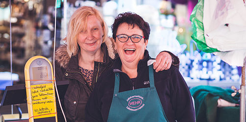 Menschen aus Bayern - Ilona und Andrea aus Nürnberg