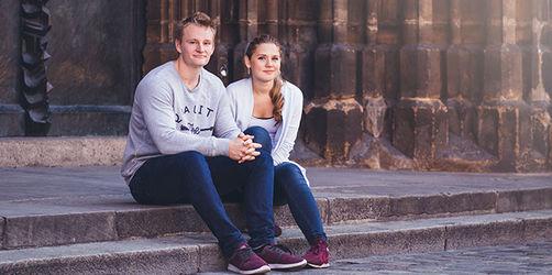 Menschen aus Bayern - Kim-Annalena und Uli aus Regensburg