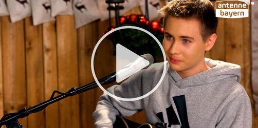 """Zum 2. Advent: Luca singt """"Mistletoe"""" von Justin Bieber"""