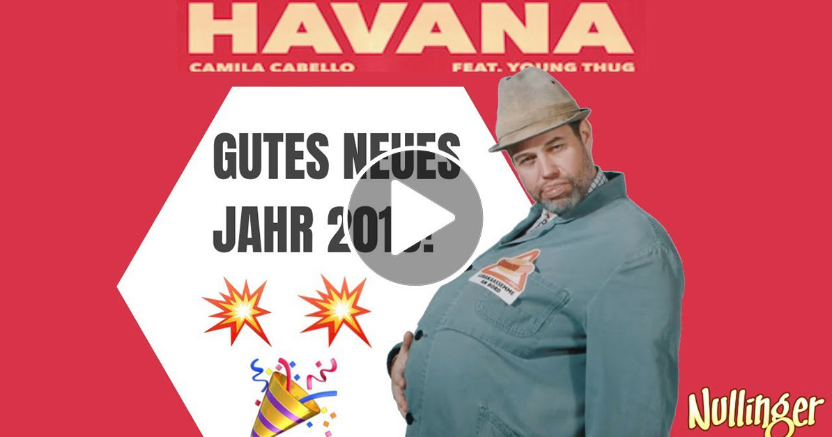 Video Unser Herr Nullinger Singt Den Antenne Bayern Neujahrshit