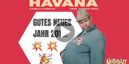 Video: Unser Herr Nullinger singt den ANTENNE BAYERN Neujahrshit