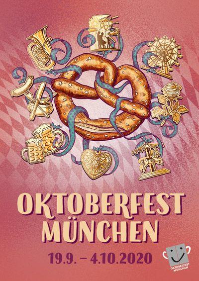 Oktoberfest 2020: So sieht das offizielle Wiesn-Plakat aus