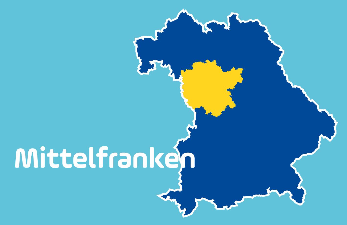 Mittelfranken Karte.Blitzmarathon 2019 Die Messstellen In Mittelfranken Antenne Bayern