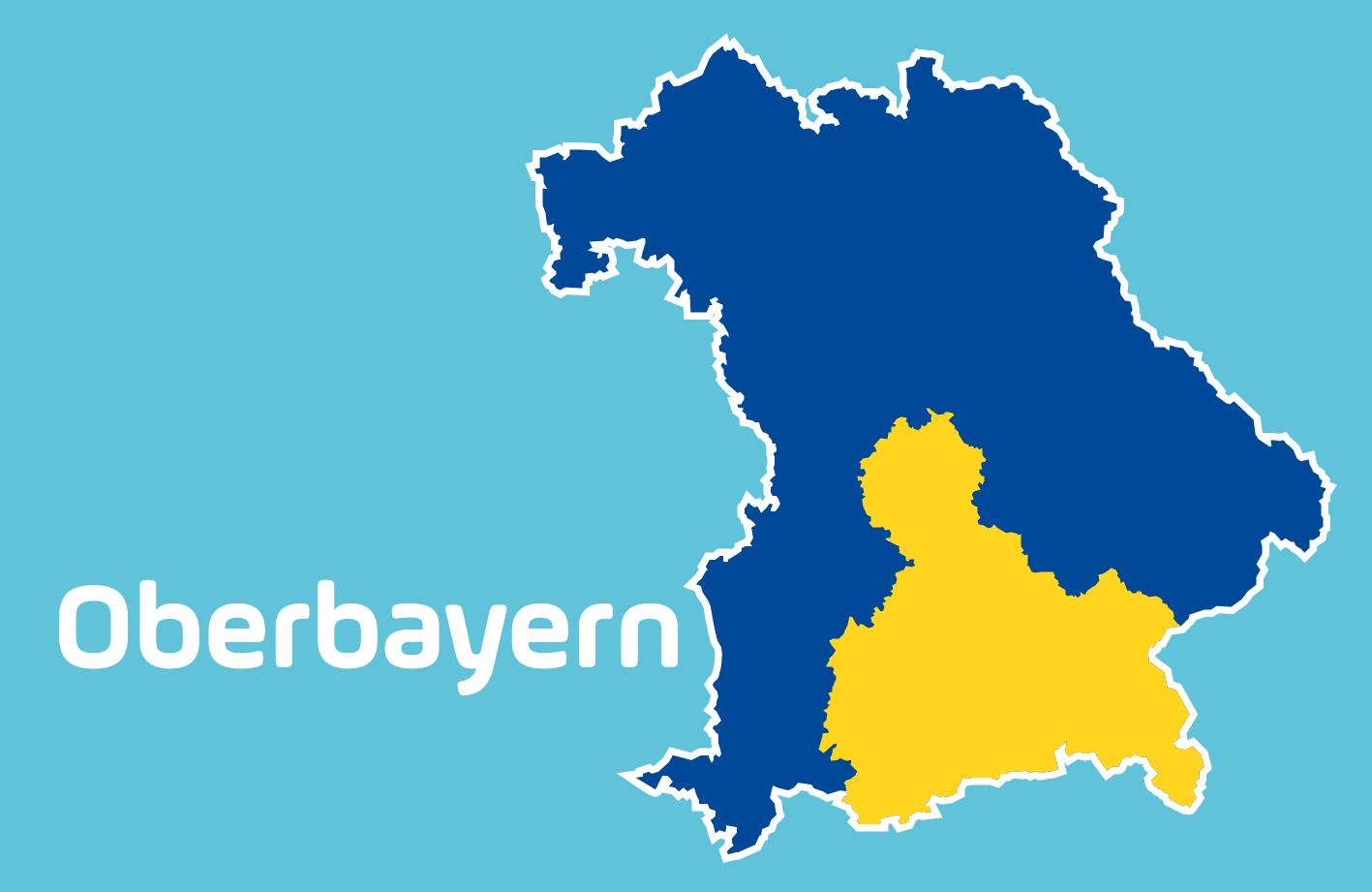 Karte Oberbayern.Blitzmarathon 2019 Die Messstellen In Oberbayern Antenne Bayern
