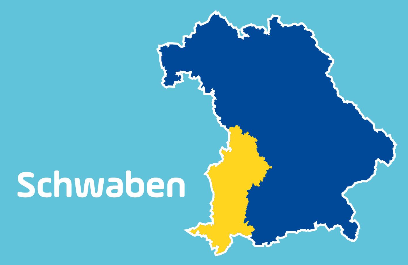 Schwaben Karte.Blitzmarathon 2019 Die Messstellen In Schwaben Antenne Bayern