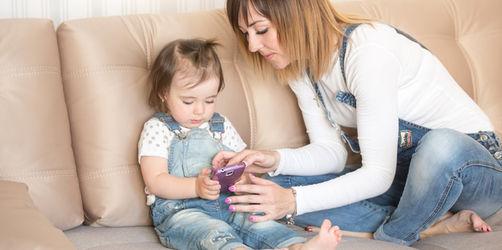 Studie: Smartphones lassen Babys und Kleinkinder schlechter schlafen