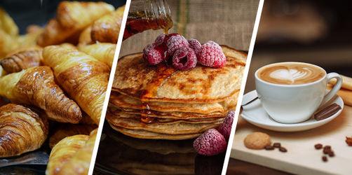 Frühstücks-Fakten: 1 Croissant, 6 Äpfel - gleiche Kalorien