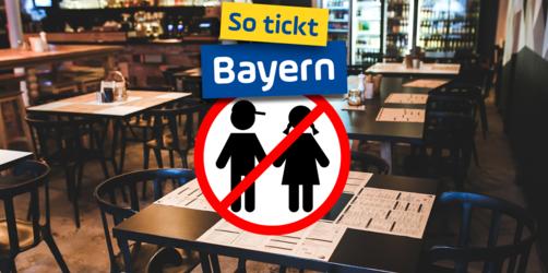 Jetzt abstimmen! Sind kinderfreie Restaurants auch ein Modell für Bayern?