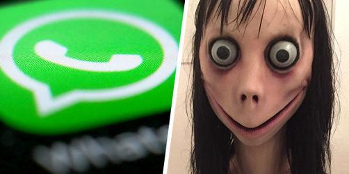 """""""Momo""""-Challenge: Polizei warnt Eltern und Kinder vor WhatsApp-Kettenbrief"""