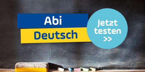 Schaffst du den Schulabschluss im Fach Deutsch? Teste dich im Abi-Quiz!