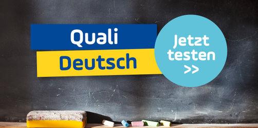 Schaffst du den Quali im Fach Deutsch? Teste dich!