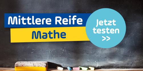 Schaffst du die mittlere Reife im Fach Mathe?