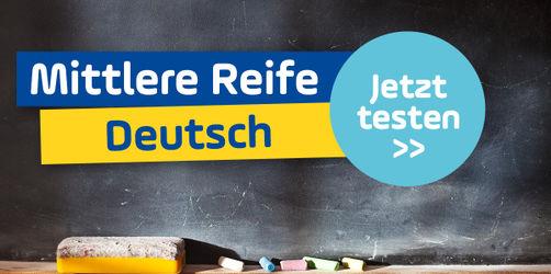 Schaffst du die mittlere Reife im Fach Deutsch?