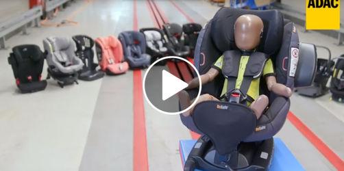 20 Kindersitze im ADAC-Test: Diese 4 Modelle fallen durch