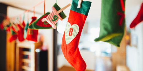 Adventskalender selber befüllen: Einkaufslisten für Kids, Frauen & Männer