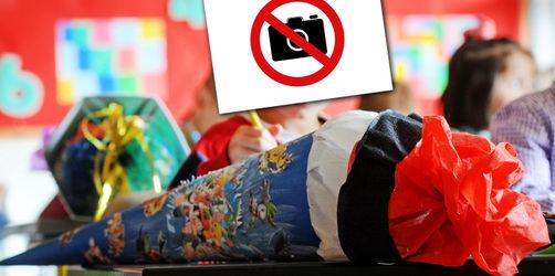 Ärger um Fotos & Videos am 1. Schultag: Droht auch Eltern in Bayern ein Verbot?