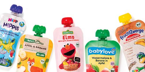Obst aus der Tüte: Praktische Quetschies für Kinder im Check