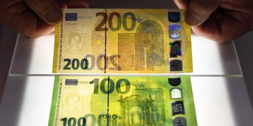 So sehen der neue 100- und 200-Euroschein aus