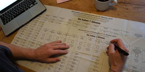 Landtagswahl in Bayern: Warum die Kreuze dieses Mal anders zählen