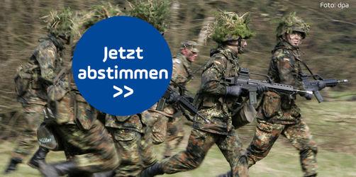 Jetzt abstimmen: Soll Deutschland eine allgemeine Dienstpflicht einführen?