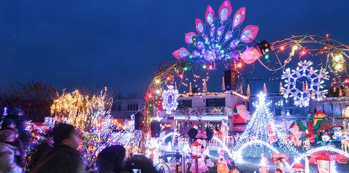 Christbäume, Lichterketten und Co: Was bei Weihnachtsdeko am Haus erlaubt und verboten ist