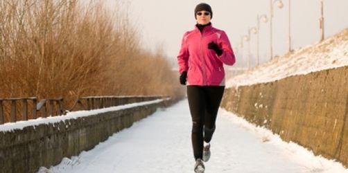 Joggen im Winter: Durch richtiges Atmen die Bronchien schützen