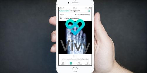 Neue Gesundheitsapp Vivy - die Krankenakte auf dem Handy